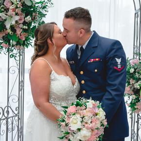 Military wedding photos at Doolan's Shore Club ABSB-17