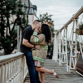 Our Top NJ Engagement Photographers at Galloping Hill Golf Course NRTB-17