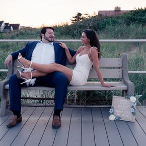 Engagement photographers nj at Jack Baker's Lobster Shanty Sunset Ballroom EWTR-17